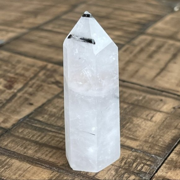 Quartz Crystal Single Terminated Tower Point